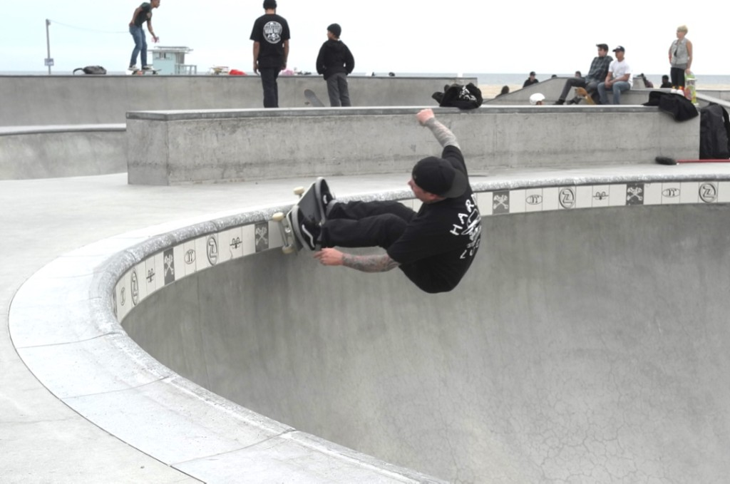 ERIC DRESSEN / DEEP END of VENICE BOWL