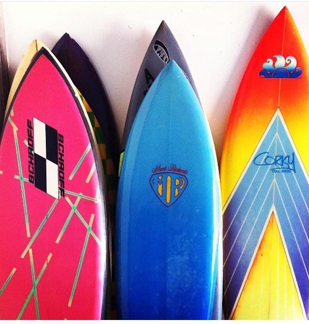 SCHROFF/// Vintage Surfboards / Photo: @unionsurfer