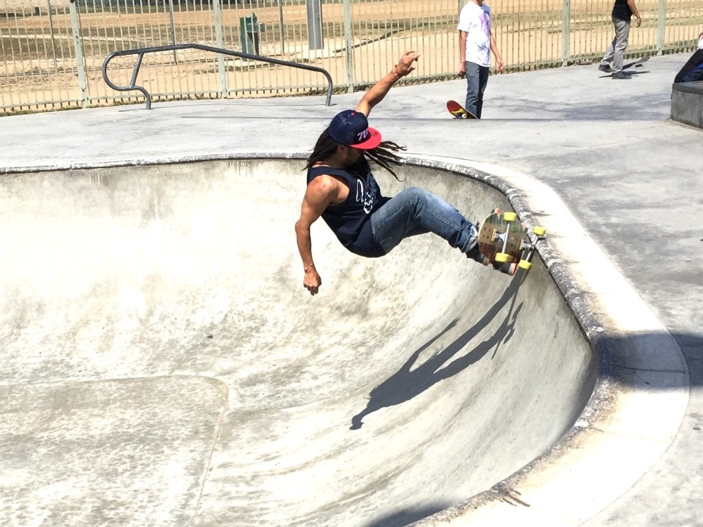 Belvedere Skatepark East LA. photo: codtm